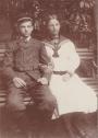 Rudolf Spohr mit Schwester Kläre