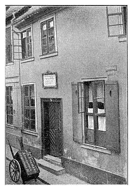 Geburtshaus in Braunschweig, ehem. Pfarrhaus zu St.Ägidien