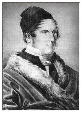 Louis Spohr um 1823 (Kreide auf Karton)
