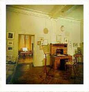 Zimmer im Spohrmuseum in Kassel Schloß Bellevue