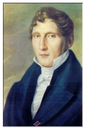1838 malte Johann Roux diese Porträt von Louis Spohr mit dem Band des Kurhessischen Goldenen Löwenordens