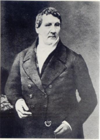Kopie einer 1852 in London entstandenen Photographie Louis Spohrs. Deutlich sind die feingliedrigen Hände des Geigers zu erkennen, der in der Öffentlichkeit eine Perücke trug