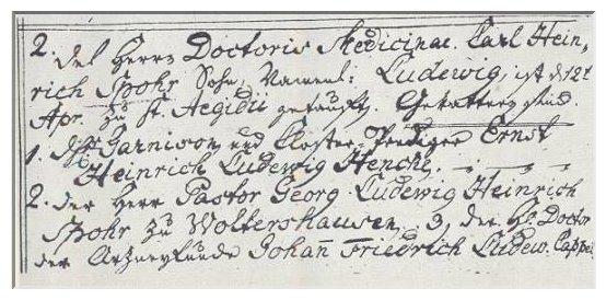 Auszug aus dem Textregister von St. Ägidien