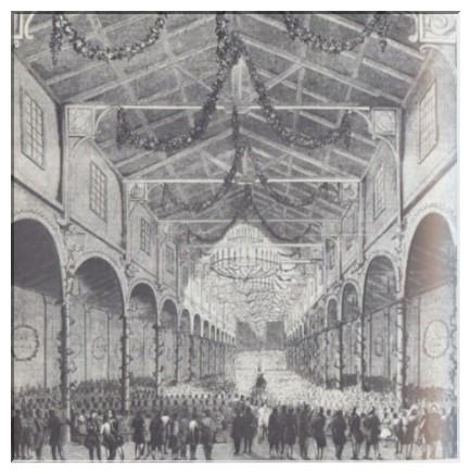 """Während der Enthüllungsfeiern des Beethoven-Denkmals 1845 in Bonn dirigierte er mit großem Erfolg in der Beethovenhalle die neunte Symphonie und die """"Missa solemnis"""" des Bonner Meisters"""