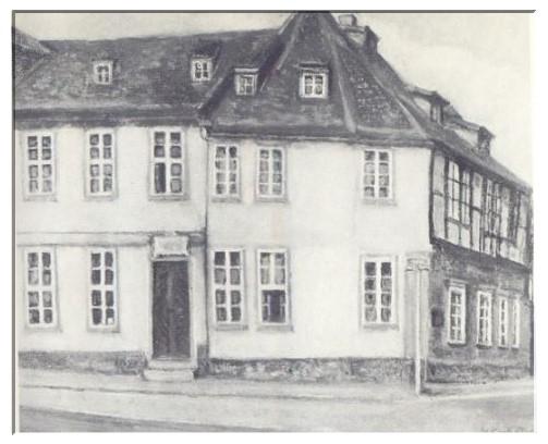 Louis Spohrs Geburtshaus, Spohrplatz 7 in Braunschweig