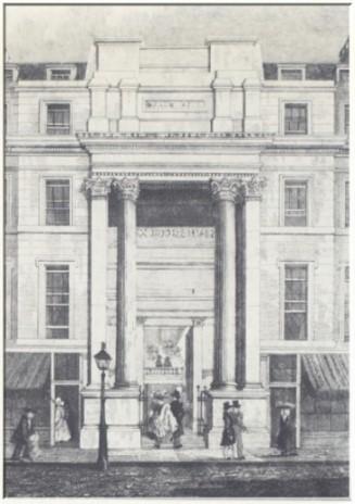 Spohr gab mehrmals Konzerte in der Londoner Exeter Hall
