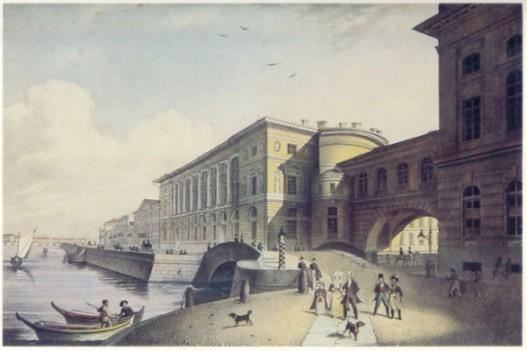 1802/03 begleitete Louis Spohr seinen Lehrer Franz Eck auf einer Konzertreise nach St. Petersburg