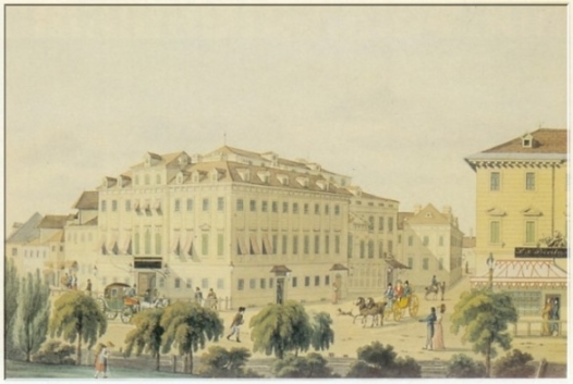 """Von 1813 bis 1815 war Spohr in Wien Orchesterdirektor im """"Theater an der Wien"""""""