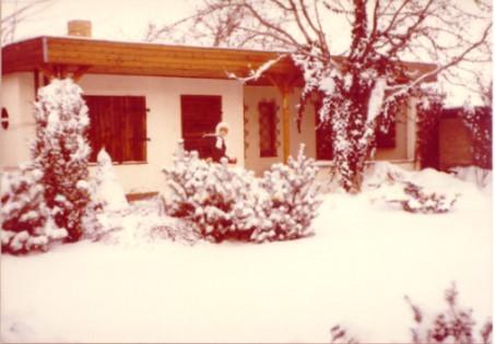 ... auch im Winter, wenn es schneit..