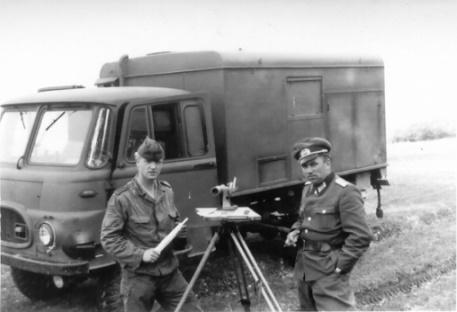 Bei der Arbeit mit Leutnant Soot