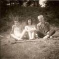 Ingrid, Manfred (l.) und Steffen